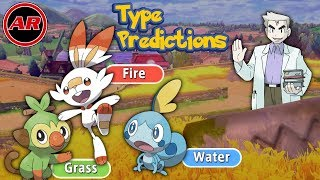 Pokemon Sword And Shield Starter Type Predictions For Final Evolutions