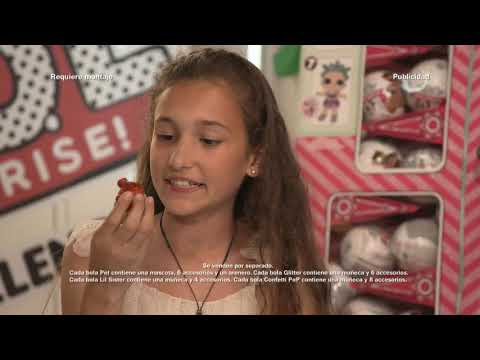 L.O.L SURPRISE! Glitter Challenge | Temporada 1 Episodio 2 | Disney Channel