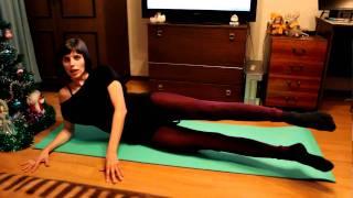 Упражнения для мышц внутренней стороны бедра(Еще один комплекс для внутренних мышц бедер смотрите не сайте http://www.furor-dance.ru/, 2011-01-15T09:45:57.000Z)