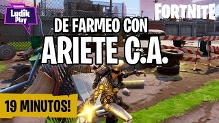 WE GET ALL THESE RESOURCES AVEC ARIETE CA FORTNITE SAUVE LE MONDE GUIDE ESPAGNOL