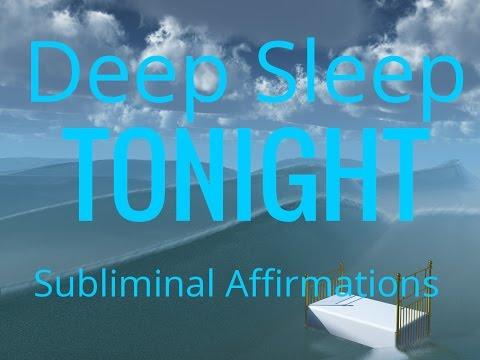 Deep Sleep Tonight | Subliminal Affirmations | Energised | Isochronic Tones | Binaural Beats