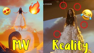 BLACKPINK KILL THIS LOVE MV VS REALITY