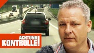 Eifersuchts-Drama auf der Autobahn! Raser über 30 km/h zu schnell! | Achtung Kontrolle | Kabel Eins