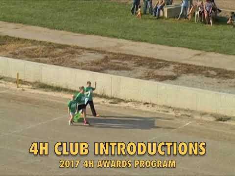 Defiance County Fair 4H Awards Program 8-21-17