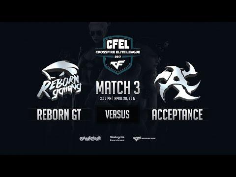 [CFEL2017 S1] Reborn GT vs Acceptance - Round 1 Match 3