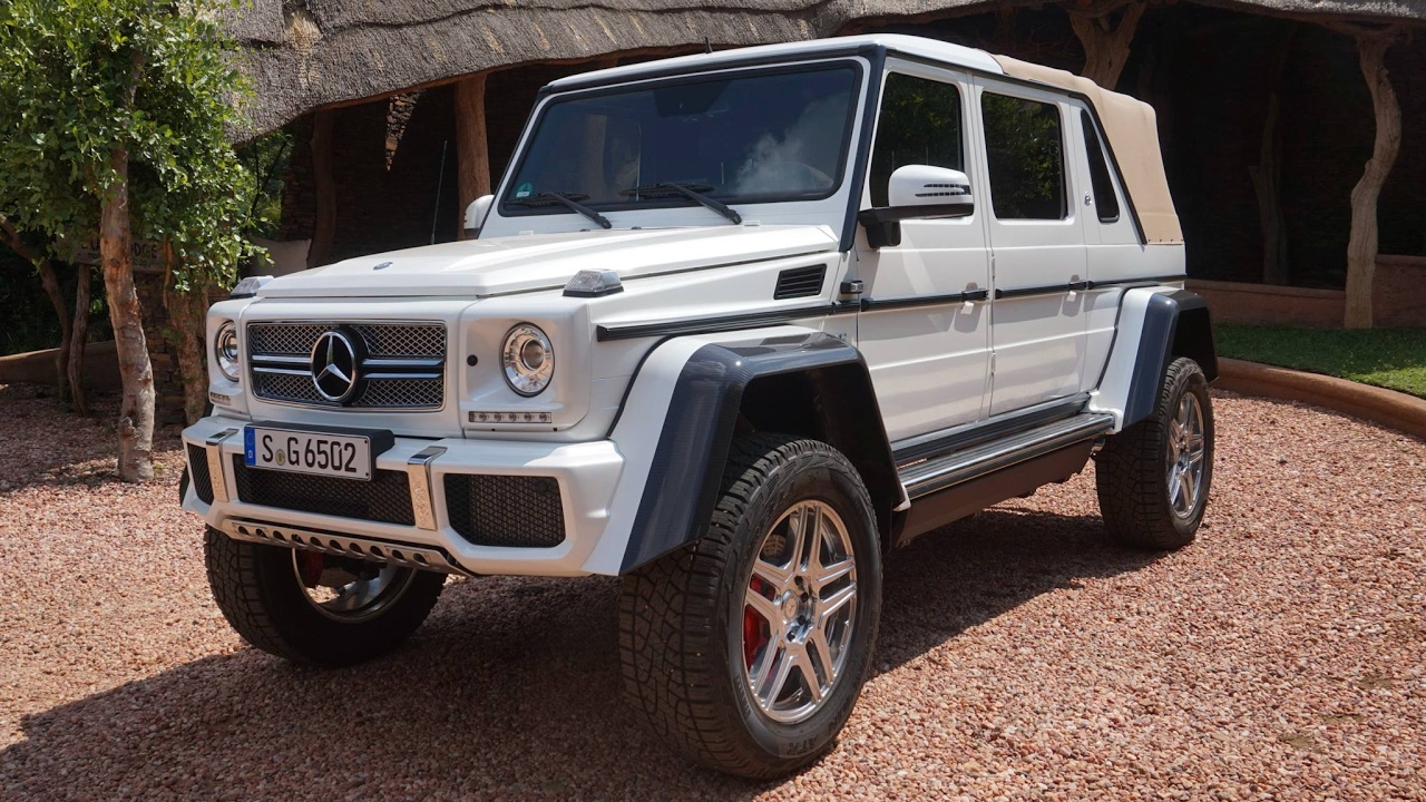 let's explore the mercedes-maybach g 650 landaulet - youtube