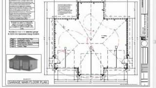 Rv Garage Plans Blueprints Construction Drawings 44 X     Www Keepvid Com