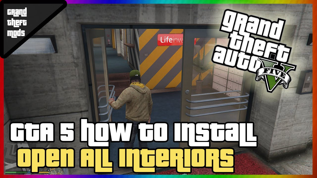 #2 GTA 5: How to install Open All Interiors mod