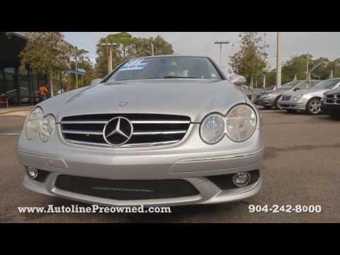 Autoline's 2007 Mercedes-Benz CLK-Class CLK550 Walk Around Review Test Drive