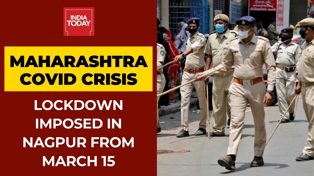 Download Covid19 Crisis: Maharashtra Govt Announces Lockdown In Nagpur From March 15 to 21