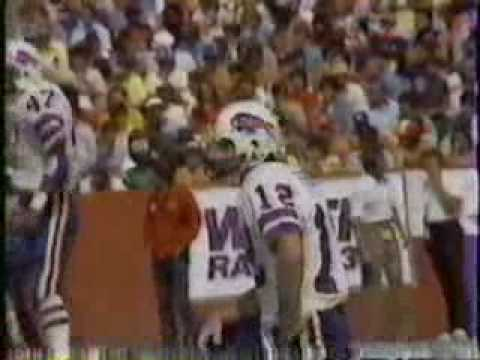 Buffalo Bills 1980 AFC East Champions Hit Me with your Best Shot