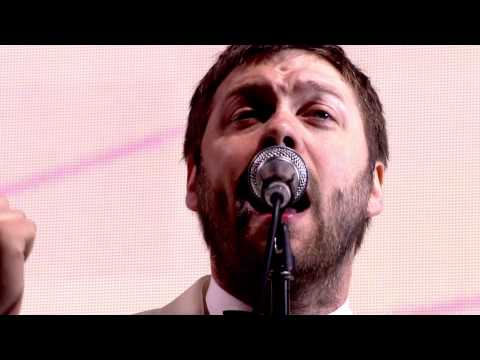 Kasabian  Fire Glastonbury 2014