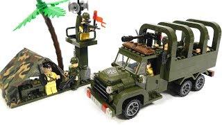 Enlighten Brick 811 Carry Truck - Speed Build