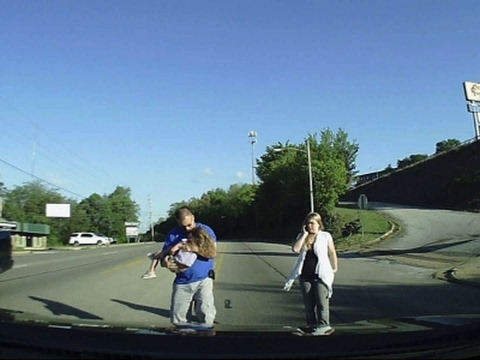 Dashcam Video Captures 4-Year-Old