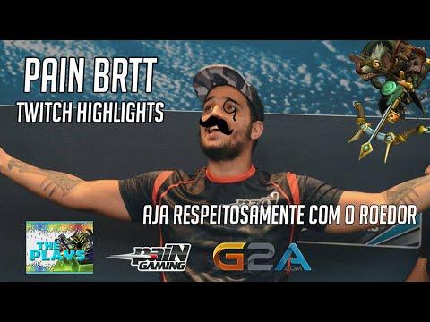 Pain Brtt RXRX | Twitch Highlights | BR SoloQueue | 1080p