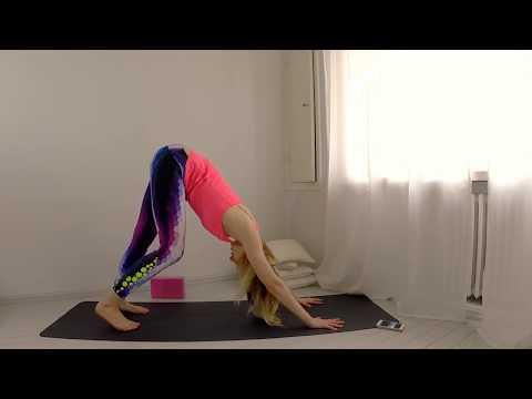 Yoga How to: One Legged Dog Eka Pada Adho Mukha Svanasana