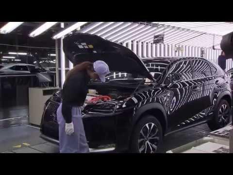 2015 Lexus NX Production at the Miyata Plant in Japan
