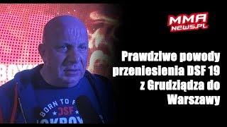 Śmierć prezydenta Gdańska pośrednią przyczyną przenosin DSF Challenge 19 do Warszawy