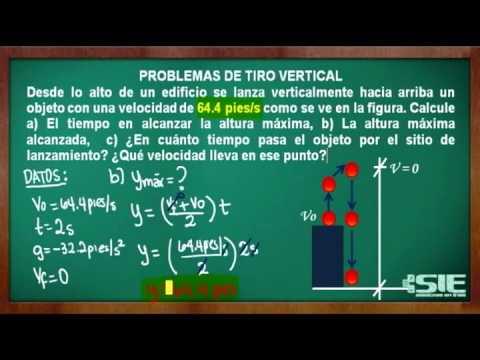 Problemas De Tiro Vertical No 3 By Tutor Expertos
