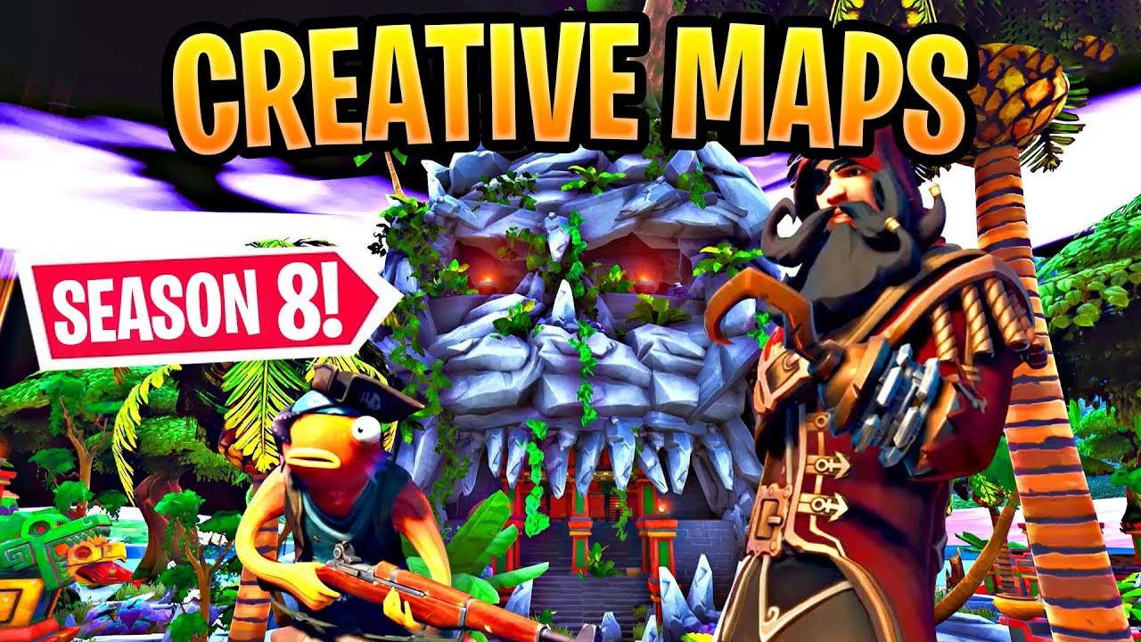 Best Season 8 Creative Maps In Fortnite WITH CODES! (Cannon, Pinball)