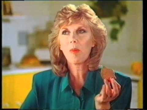 Wendy Craig biscuit advert