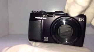 olympus SH SH-25MR Compact Digital Camera Black 16.0 MP 12.5x GPS 3.0