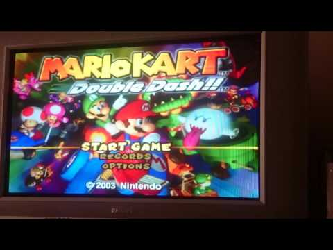 Mario Kart Double Dash In Widescreen With Nintendont (Wii)