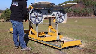 See How Simple it is to Maintain the Frontier OS27 Portable Sawmill