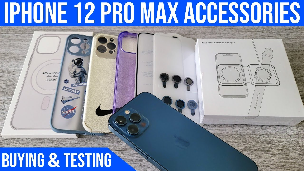 iPhone 12 Pro Max Buying & Testing - MagSafe Case - Camera Lenses - MagSafe Duo Charger + GAMING