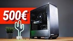500 - 600€ Euro GAMING PC 2020!! - TEST & Zusammenbauen