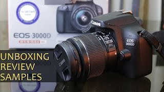 Canon EOS 3000D review - low cost budget friendly DSLR camera for approx Rs. 21,990