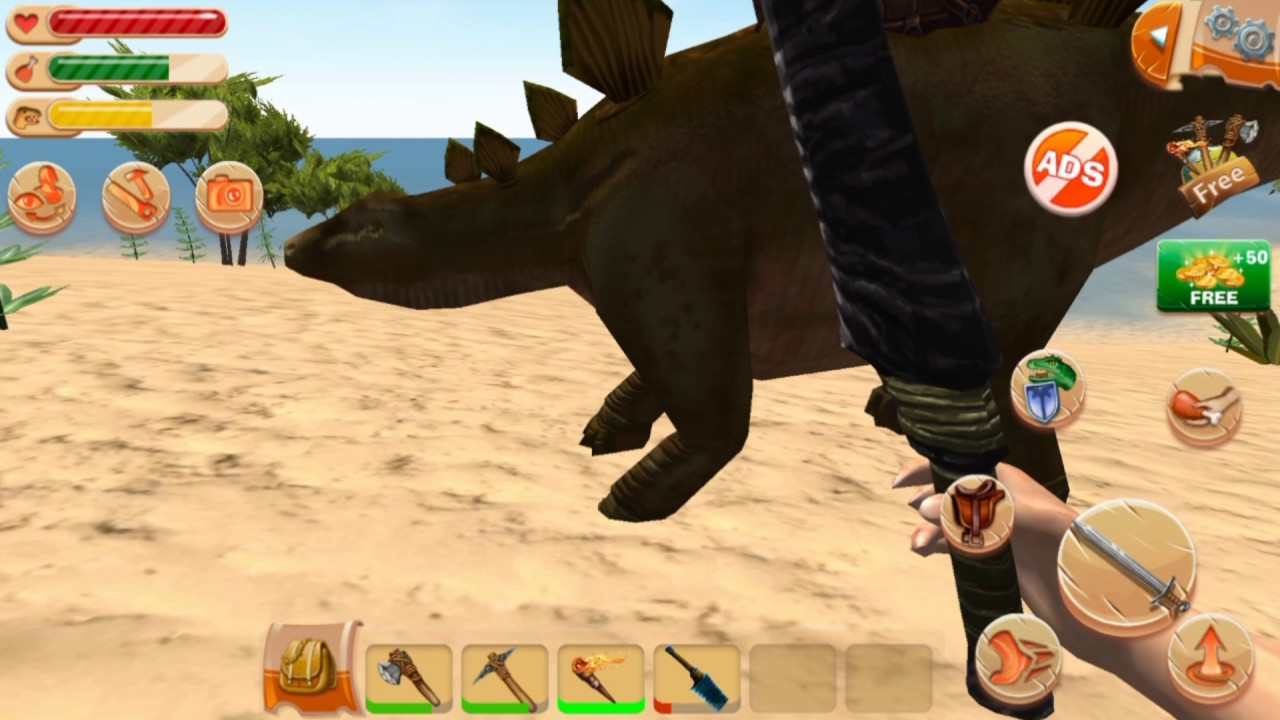 The ark of craft dinosaurs android review youtube for The ark of craft