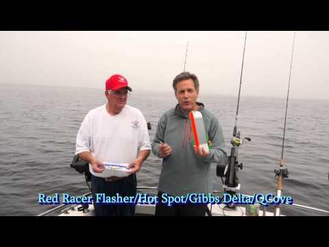 Downrigger Salmon Fishing
