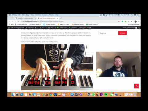 How To Use Guitar Chords For The Piano
