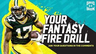 "NFL Week 14 Fantasy Football Advice   ""Your Fantasy Fire Drill"""
