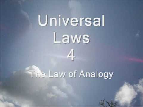 004 - The Law of Analogy - 105 Universal Laws of Third Dimension Living.