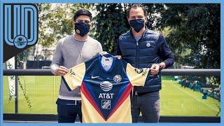 El paraguayo plasmó su firma para cerrar su contratación y presumió, en las instalaciones de Coapa, el dorsal que usará