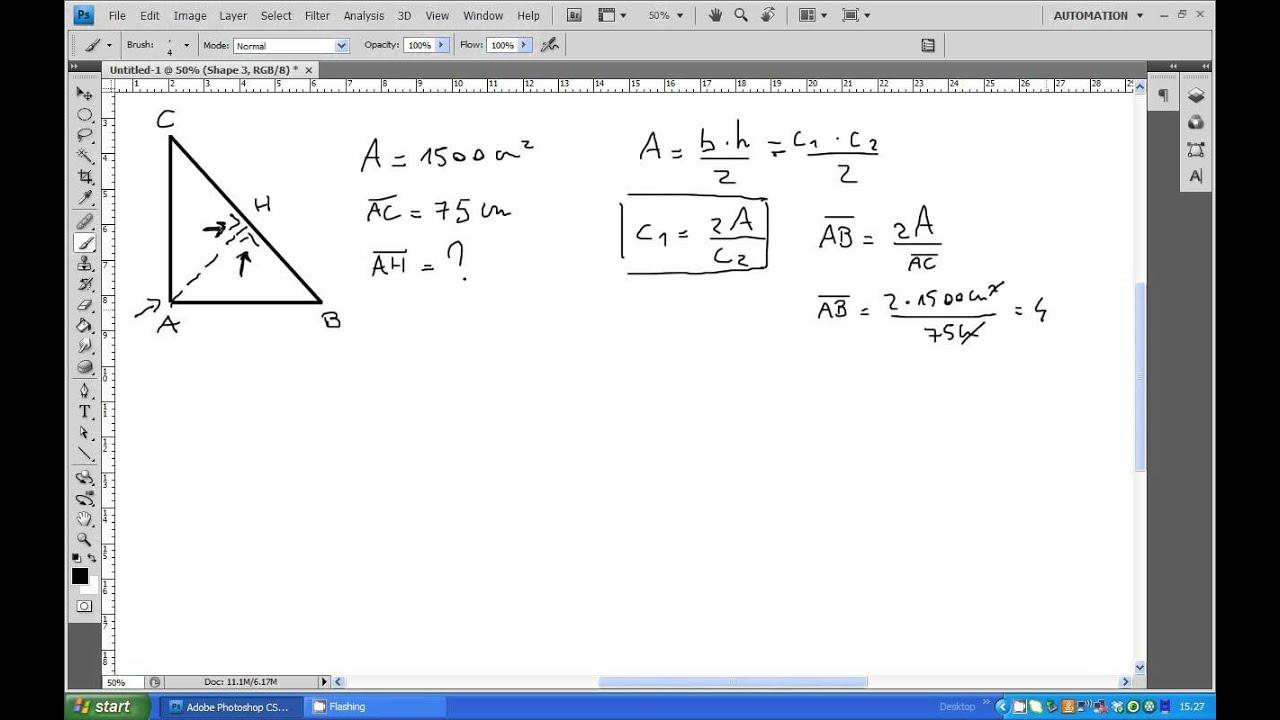 Problemi di geometria: es. 37 - YouTube