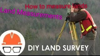 #Land Measurements#In feets and acrers
