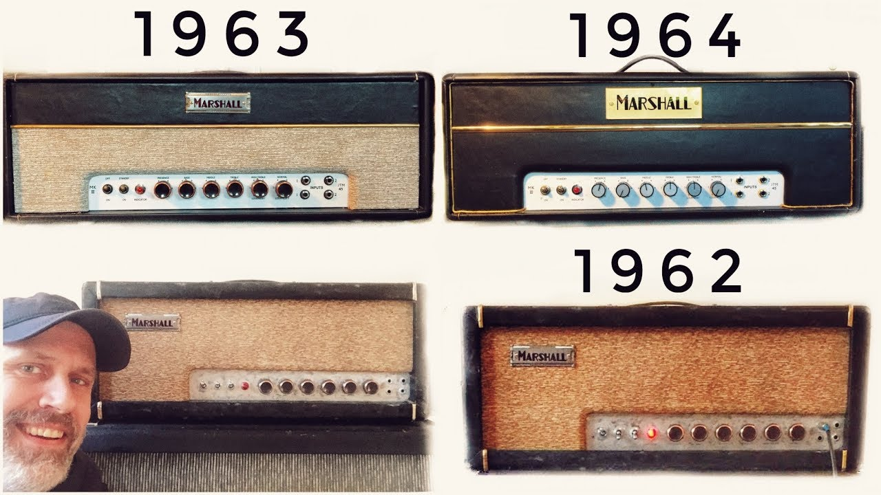 Three Pre Plexi 1962-1964 Marshall Amps that KILLS most PLEXIS!