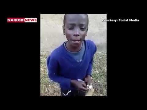 Street boy's rendition of Mercy Masika's hit 'Mwema'