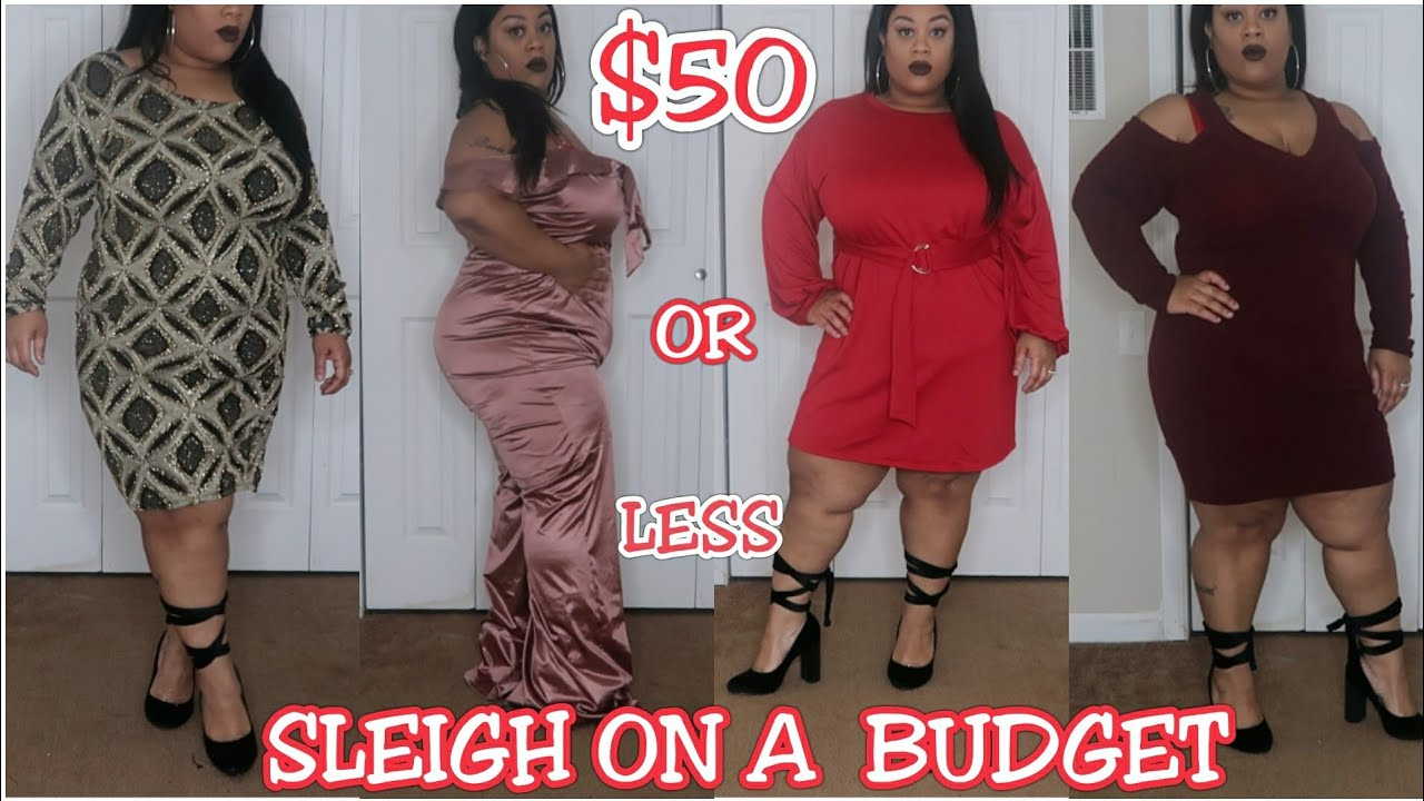 bbw/plus size | sleigh on a budget for the holidays | fashionnova
