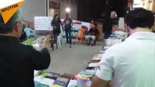 """بالفيديو: ماذا يقدم موكب """"الإمام الحسين"""" في العراق؟"""