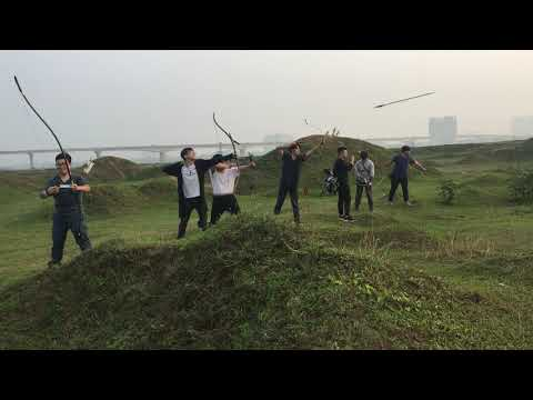 [Vietnam - Archery] Casual Outdoor Training and Shooting