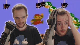 So I tried speedrunning with the Power Glove...
