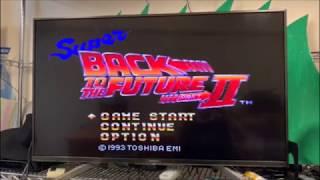 『バック・トゥ・ザ・フューチャー2』のスーファミゲームをやってみた! SFC『Super Back to the Future2』