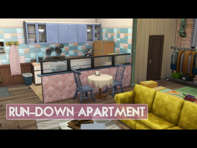 Sims 4 | Apartment Renovation | Run-down Apartment