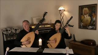 CHACONNE g-moll        Silvius Leopold WEISS         www.luteduo.com