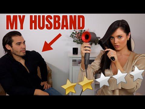 Date Night GRWM: My Husband Rates My Look!