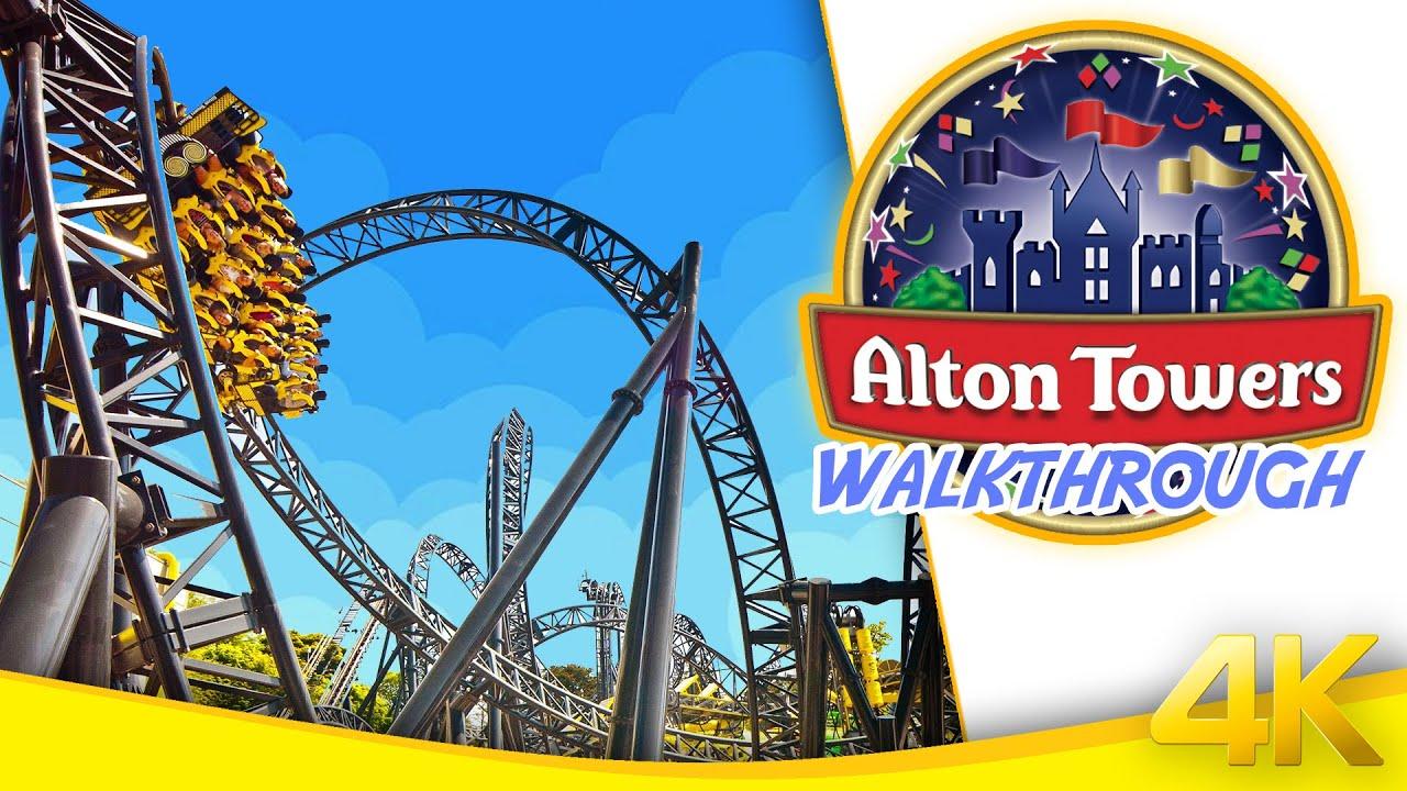 ALTON TOWERS RIDES 2021 // CBeebies + Family Rides